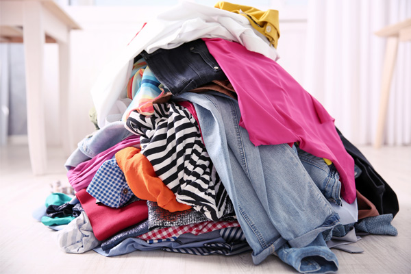 Get Rid of Your Old Clothing