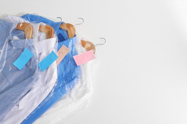 Never store anything in the dry-cleaning plastic
