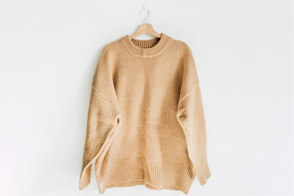 Never hang your sweaters